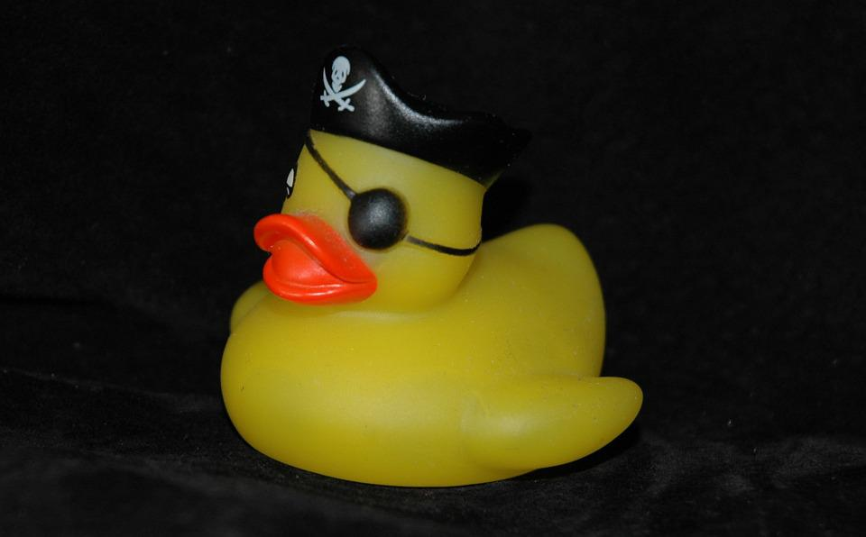 Free photo Pirate Bath Duck Toys Squeak Duck Duck Rubber Duck - Max ...