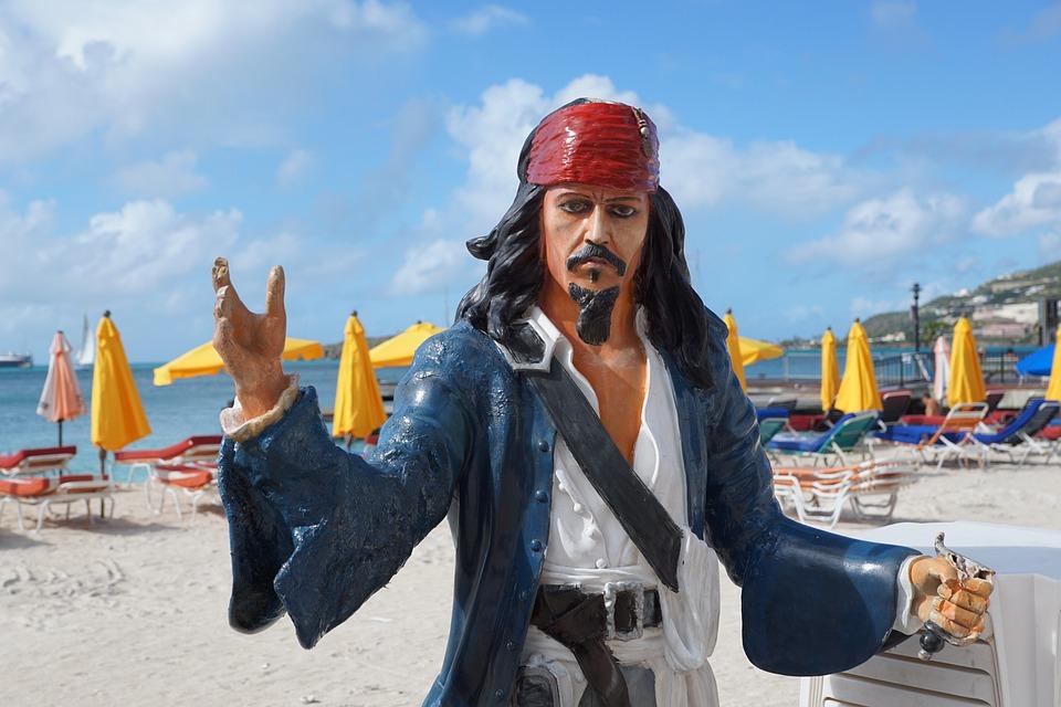 Pirate, St Maarten, Fig, Philipsburg, Caribbean