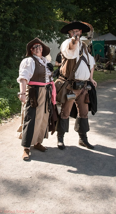 Pirates, Pistol, Role Playing Game