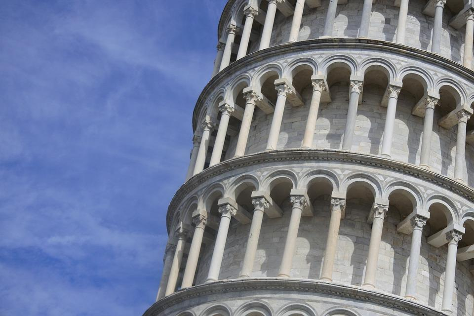 Pisa, Leaning, Italy, Architecture, Tower, Tourism