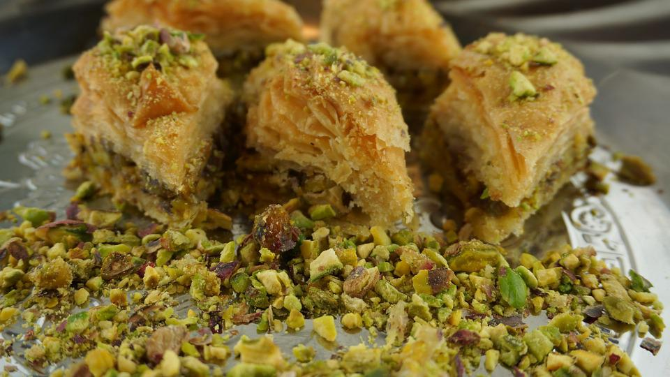 Pistachio Baklava, Oriental Kitchen, Sweet Pastries