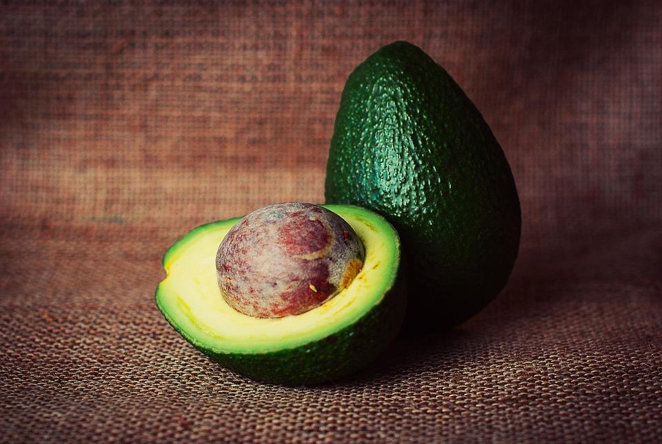 Avocado, Vegetable, Cut, Half, Pit, Healthy, Food