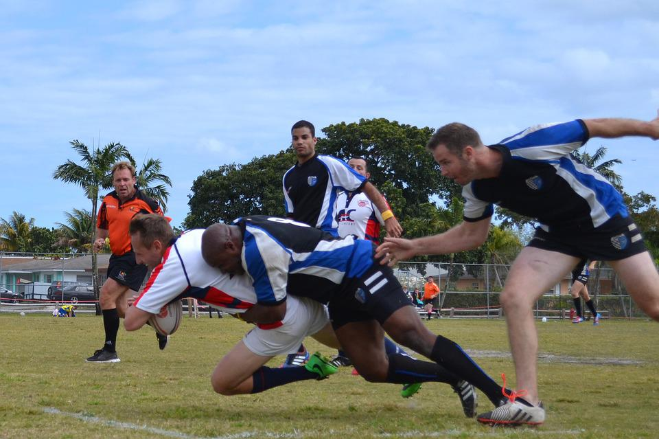 Rugby, Tackle, Tackler, Athlete, Sport, Contest, Pitch