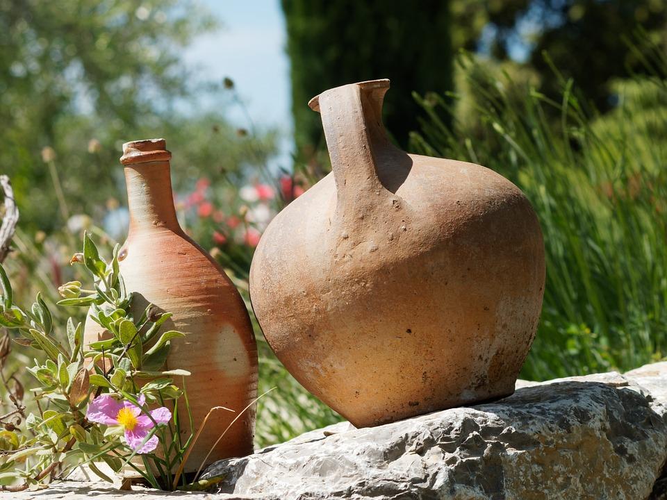 Free Photo Pitcher Crafts Pottery Bowl Vase Garden Ceramic Max Pixel