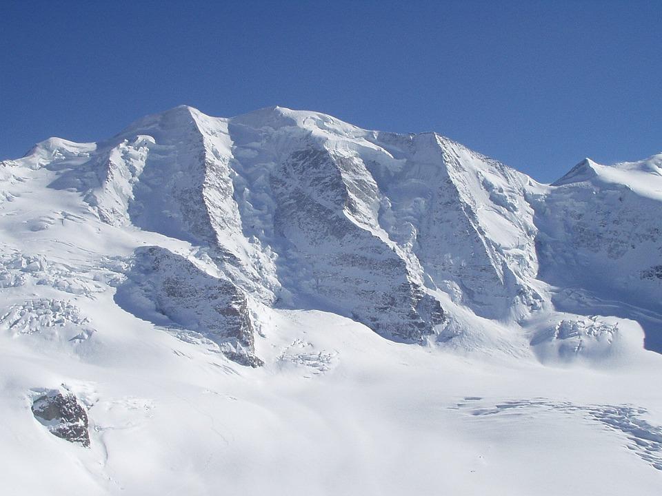 North Wall, Piz Palu, Bumiller Pillar, Alpine