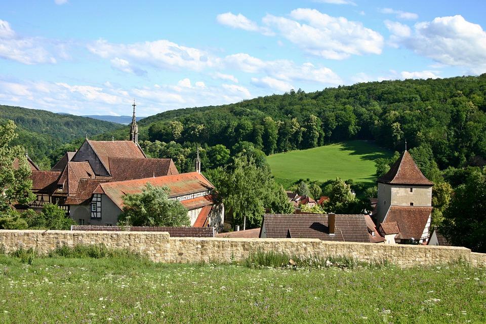 Bebenhausen, Monastery, Schönbuch, Place, Forest