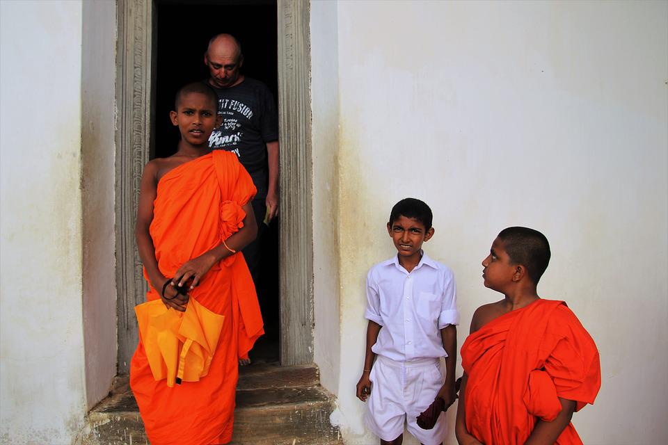Monk, Buddhist, Look, Faith, Spiritual, Place, People