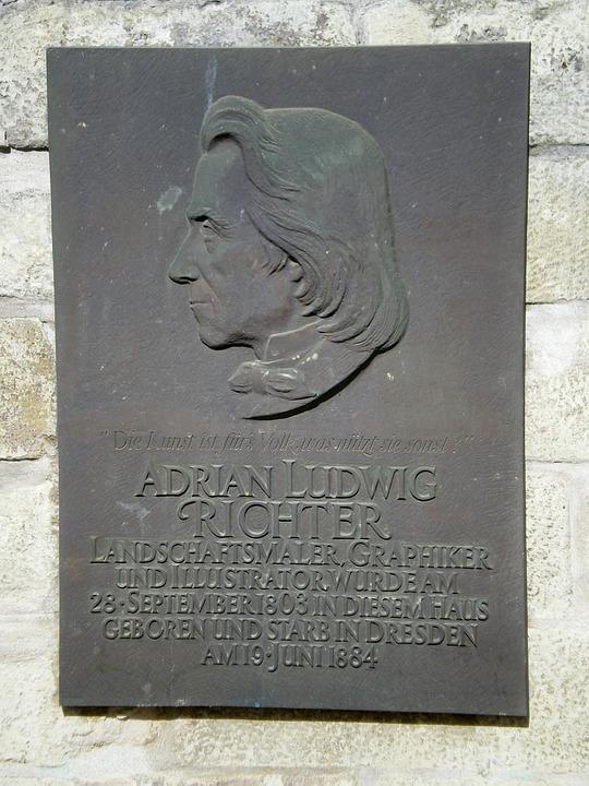 Memorial, Place, Site, Monument, Dresden, Insignia