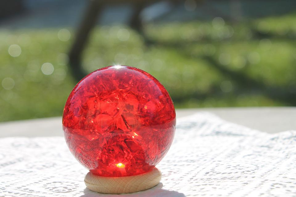 Crystal Ball Red, Energy, Place Of Power