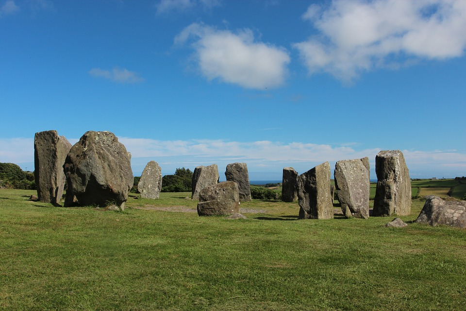 Ireland, Stone Circle, Place Of Worship, Mystical