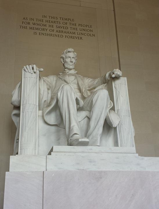 Abraham Lincoln, Monument, Places Of Interest, Usa