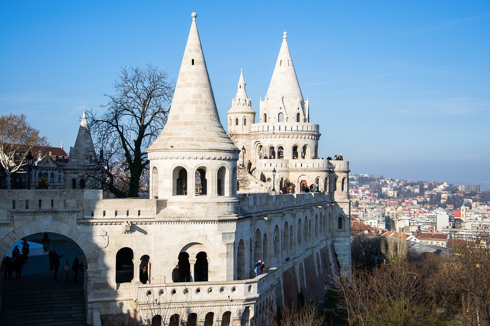 Budapest, Places Of Interest, Bastei, Architecture