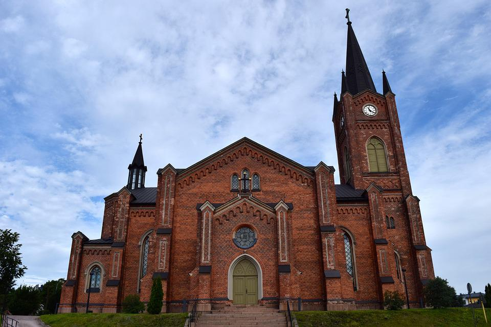 Church, Finland, Places Of Interest, Scandinavia, Dom