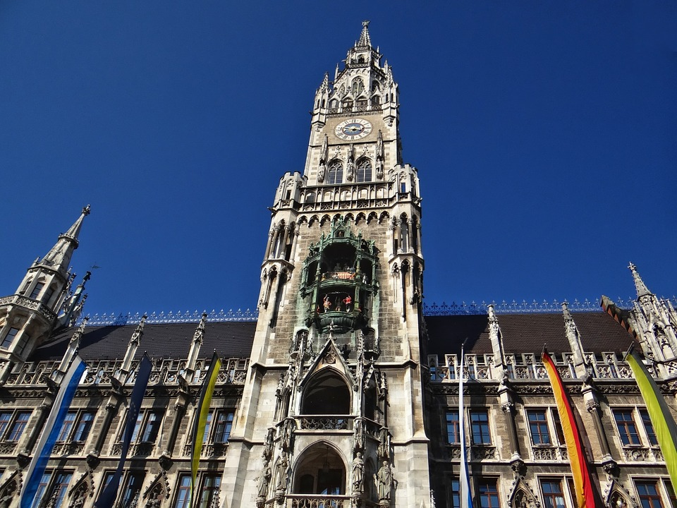 Munich, Town Hall, Places Of Interest, Town Hall Tower