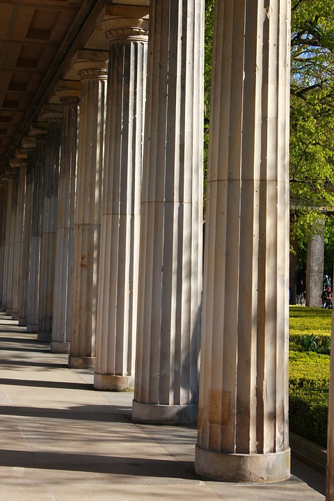 Arcade, Museum Island, Berlin, Places Of Interest