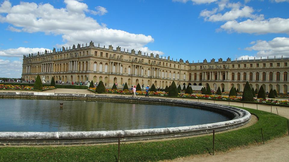 Versailles, Castle, Paris, Places Of Interest, Fountain