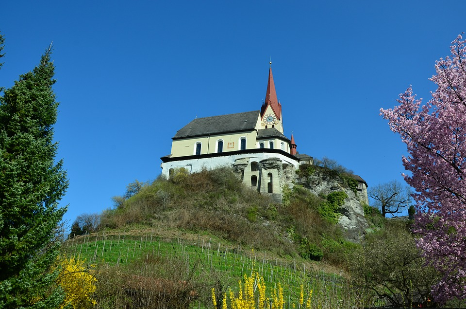 Basilica, Church, Catholic, Sky, Places Of Interest