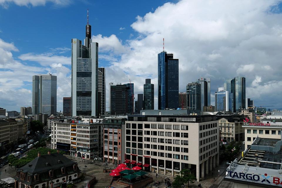 Frankfurt Am Main Germany, Skyline, Places Of Interest