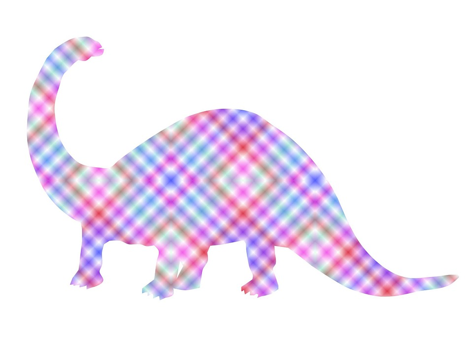 Plaid, Dinosaur, Girl, Cute, Blanket