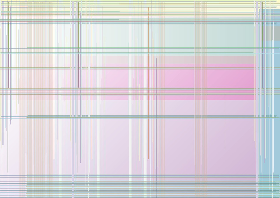 Plaid, Pink, Lime, Net, Pattern