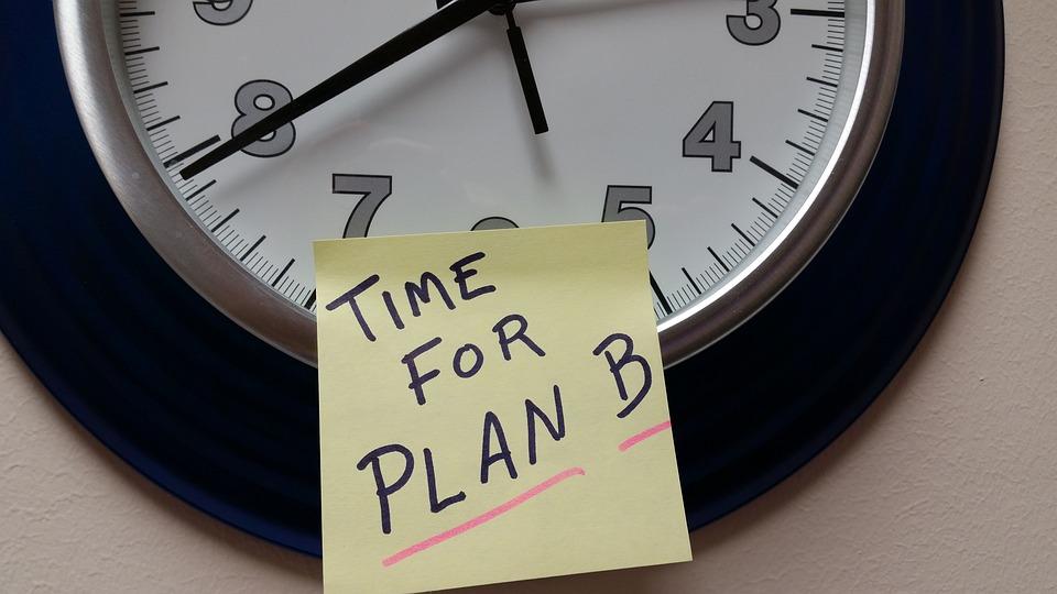 Time, Plan B, Alternative, Office, Idea, Growth, Clock