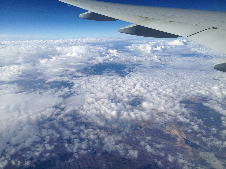 Flight, Sky, Atmosphere, Plane, Above The Clouds