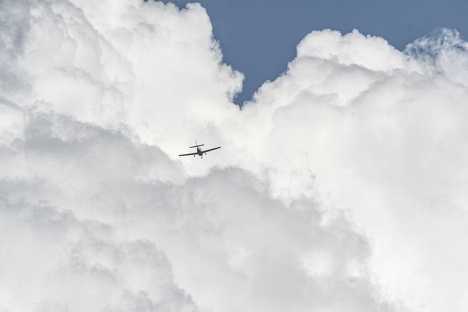 Clouds, Aircraft, Plane, Sky