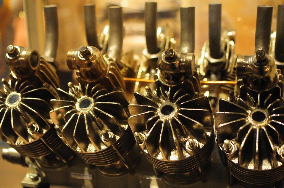 Plane Engine, Air Space Museum, Washington Dc