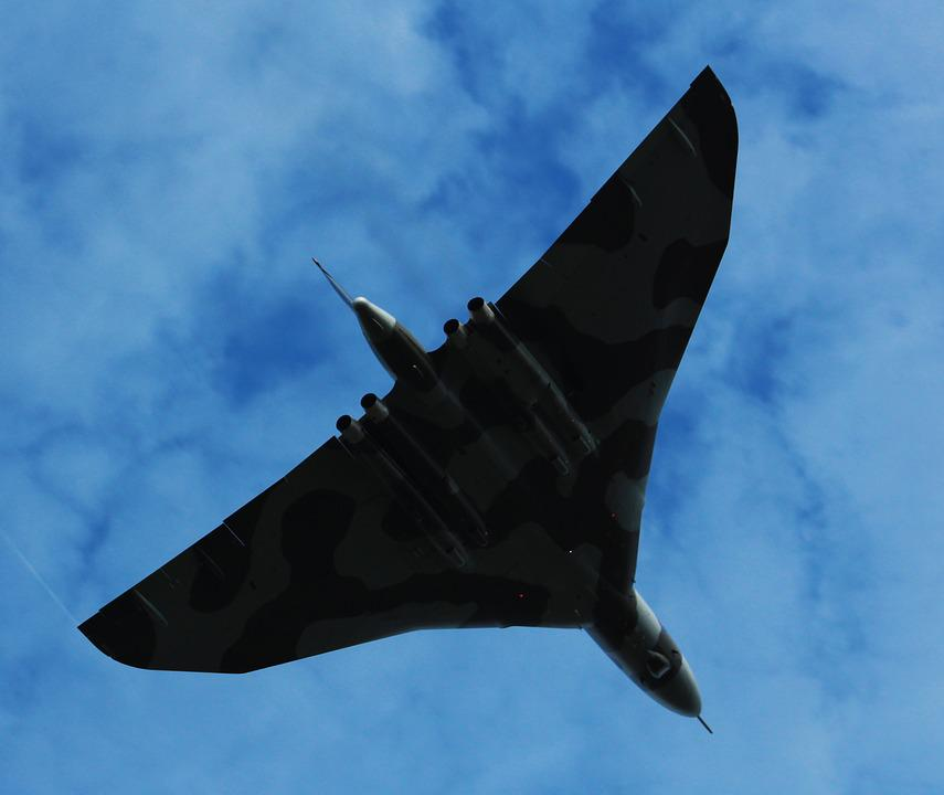 Vulcan, Plane, Flight, Avro Vulcan, Strategic Bomber