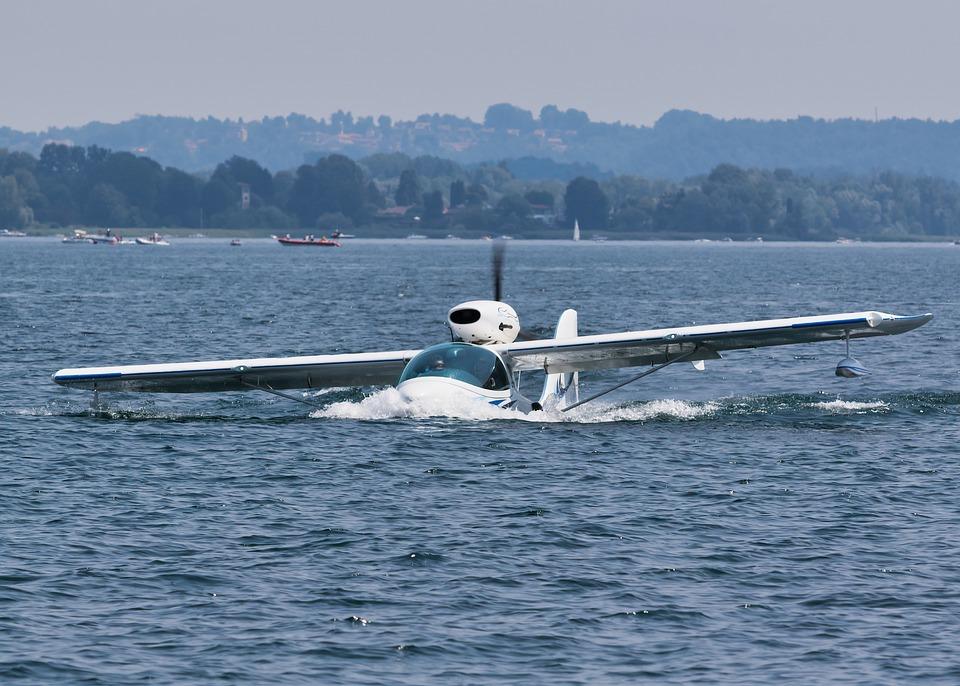 Seaplane, Water, Plane, Transport, Sea, Flight