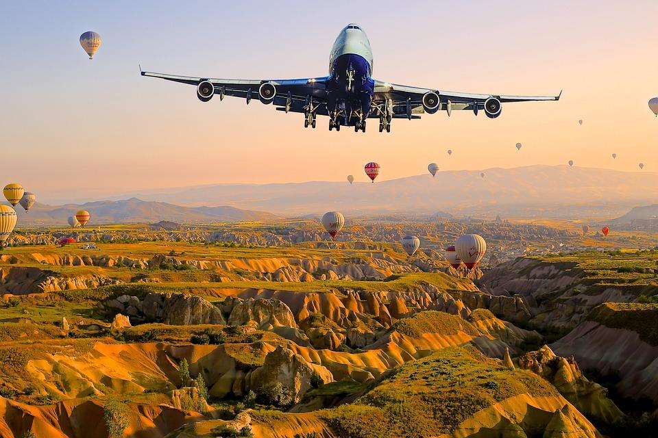 Turkey, Plane, Istanbul, Aircraft, Airplane, Landscape