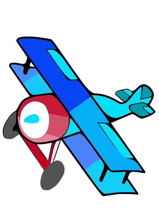 Biplane, Plane, Airplane, Planes, Fly