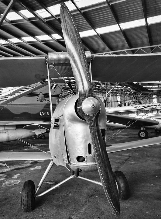 Plane, Propeller, Biplane, Airplane, Aircraft, Aviation
