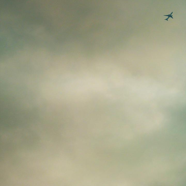 Plane, Sky, Abstract, Clouds, Air, Airplane, Travel