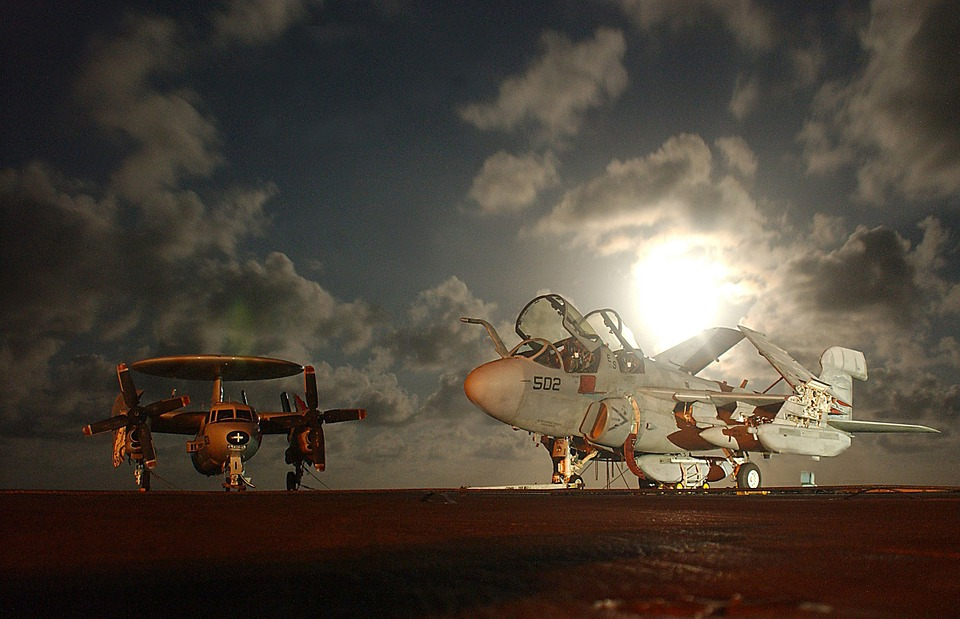 Sky, Clouds, Planes, Aircraft, Jet, Fighter, Military