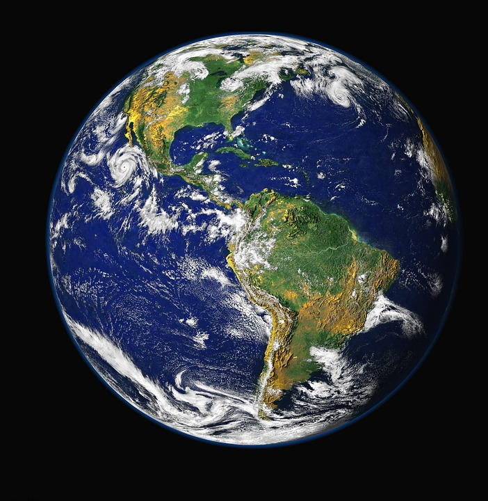 Earth, Blue Planet, Globe, Planet, World, Space