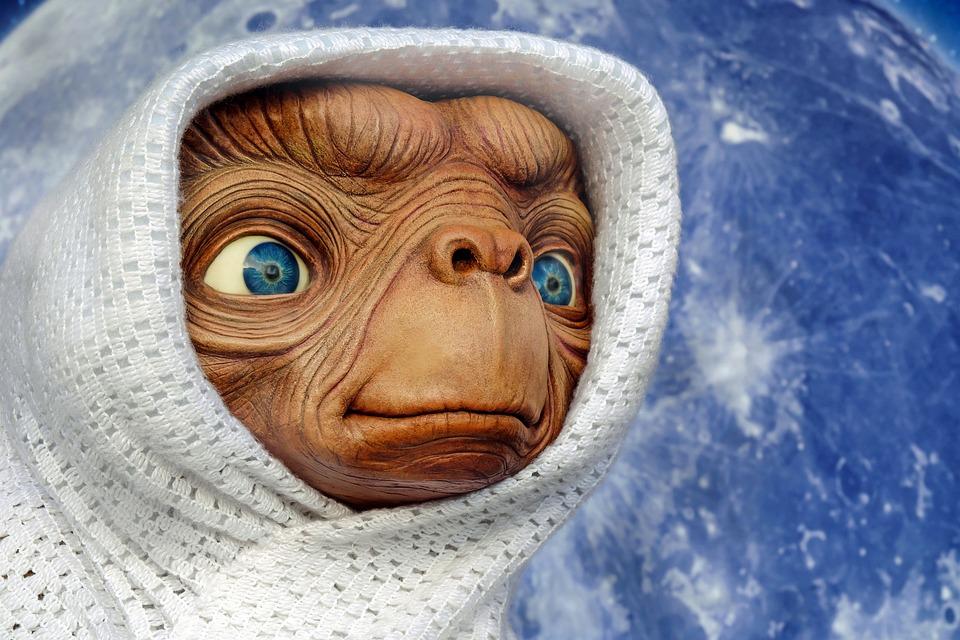 Et, Extraterrestrial, Creature, Figure, Fantasy, Planet