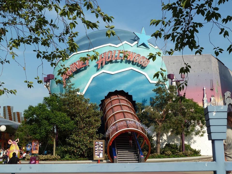 Planet Hollywood, Disneyland, Restaurant