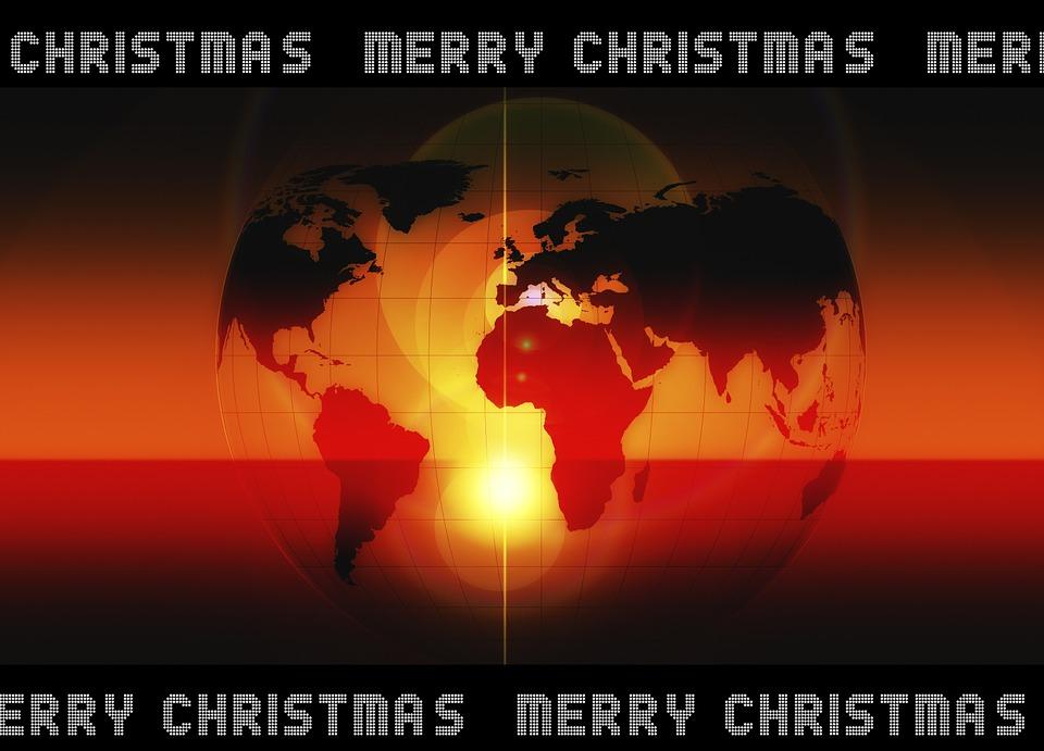 Christmas, Advent, Earth, Globe, International, Planet