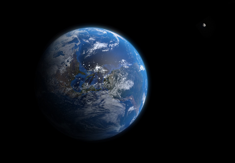 Planet, Astronomy, Atmosphere, Moon, World, Globe