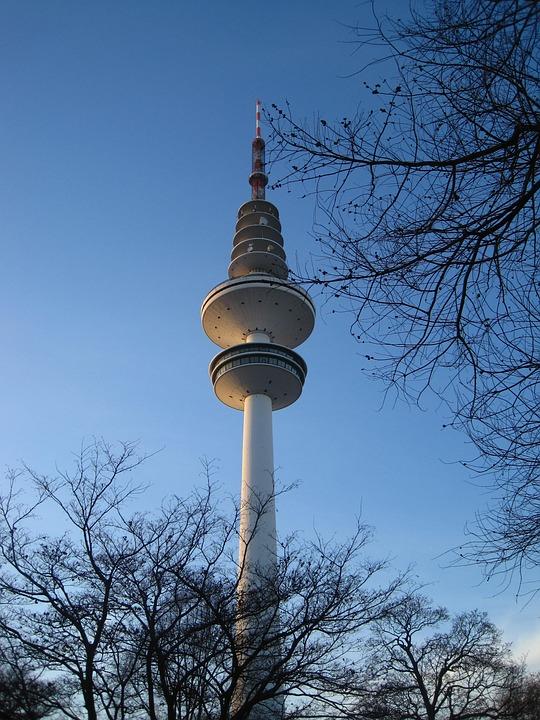 Hamburg, Tv Tower, Planned Un Blomen, Hanseatic