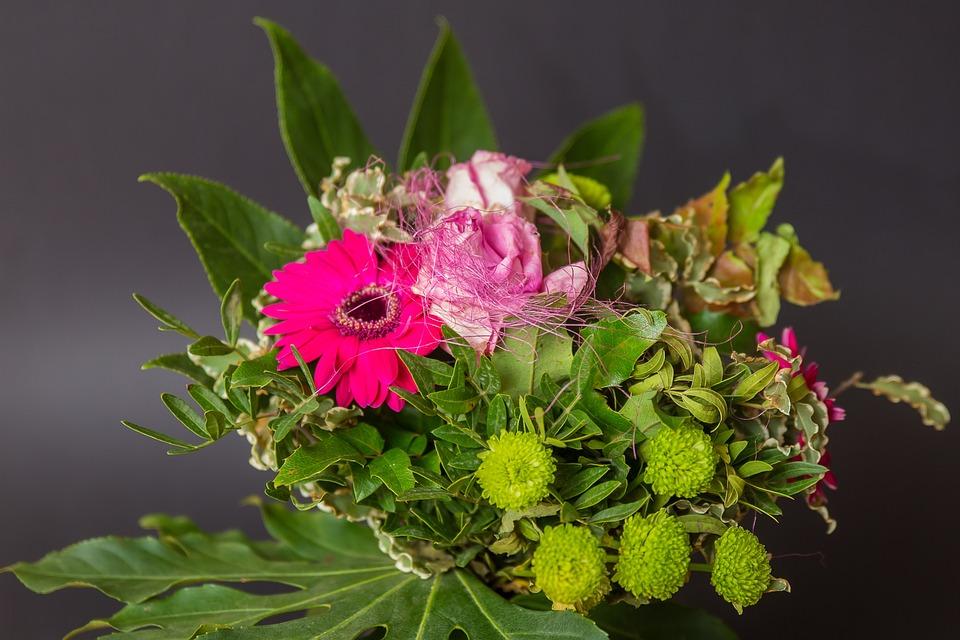 Flowers, Bouquet, Blossom, Bloom, Plant, Garden
