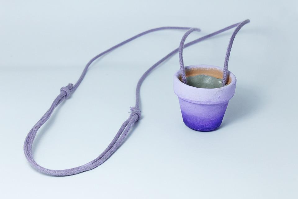 Vase, Paste, Plant, Handmade