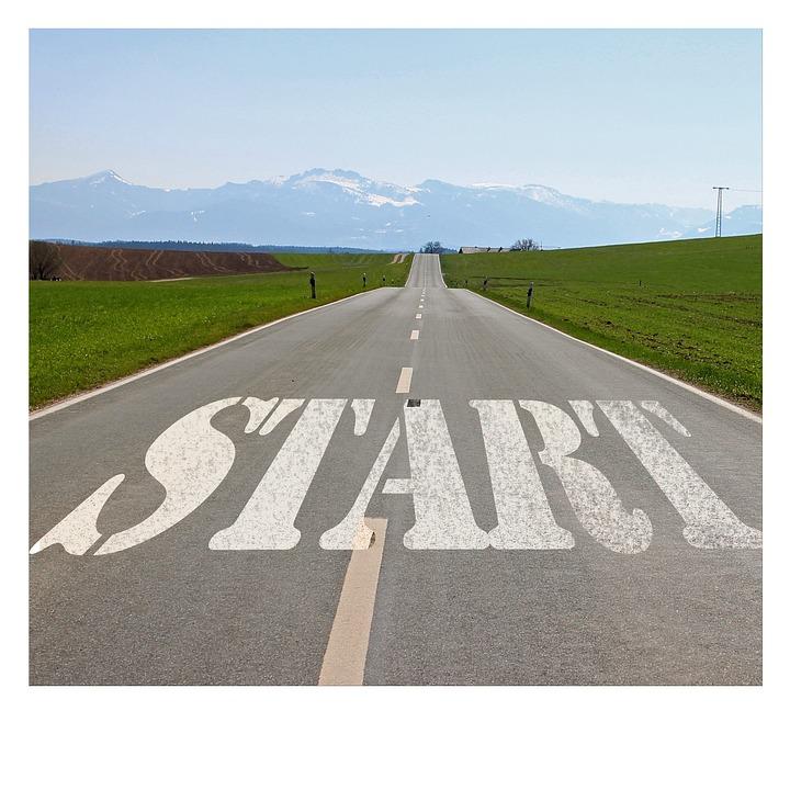 Road, Start, Beginning, Intention, Plant, Stop, Design