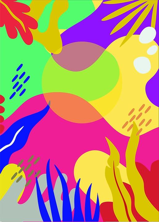 Image, Plants, Color