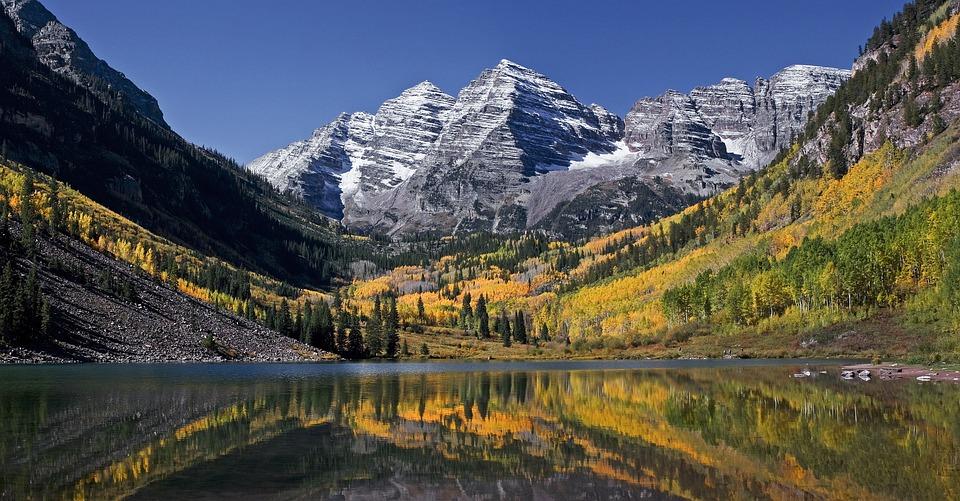 Lake, Water, Mountain, Trees, Green, Grass, Plants