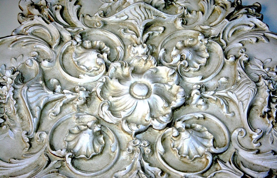 Free photo Plaster Relief Wall Medallion Architectural Detail - Max ...
