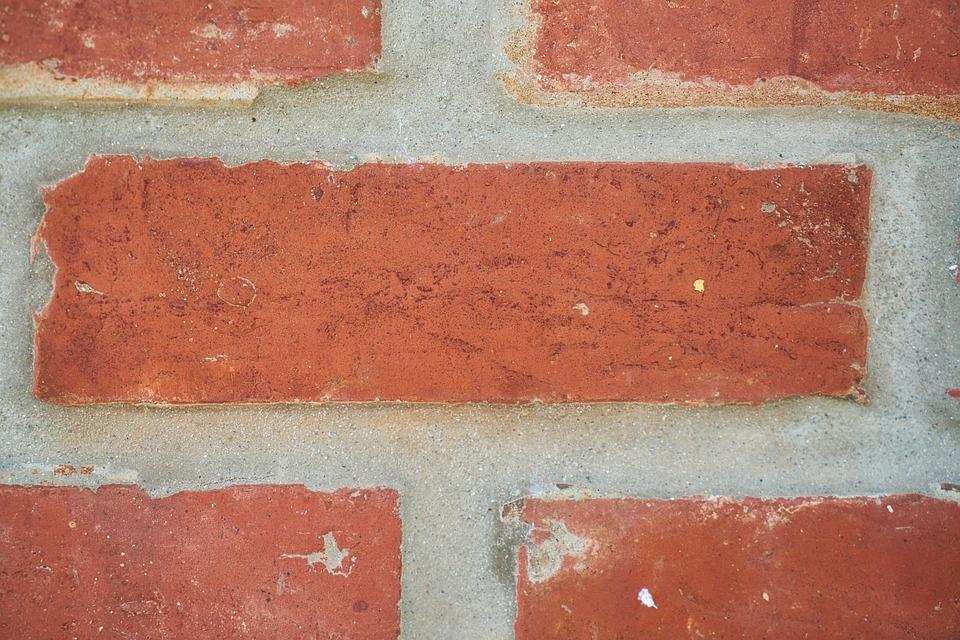 Brick, Wall, Stone, Cement, Plaster, Sarmiento, Solid