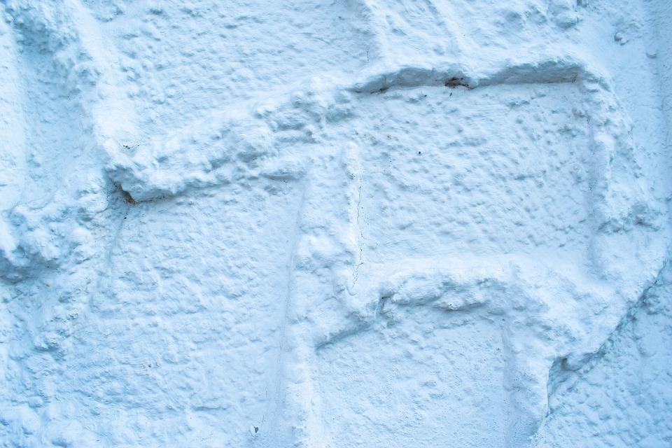 Structure, Plaster, Outer Wall, White, Rough Surface