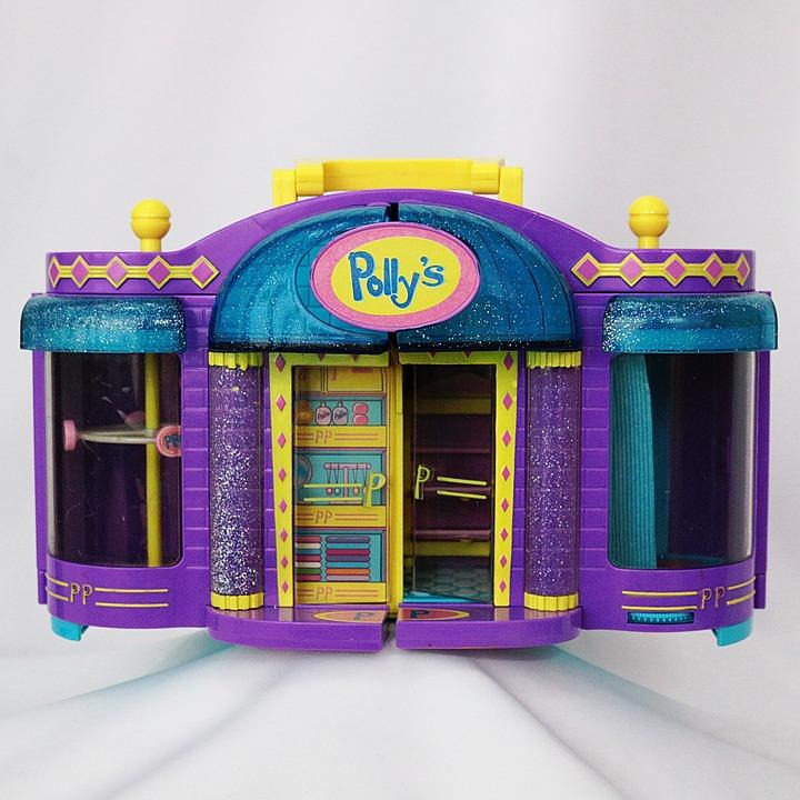 Toy, Plastic, Children, Miniature, Store, Merchant